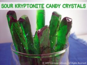 These are the sour candies that present Superman's only weakness. Because Kryptonite comes from his home planet.