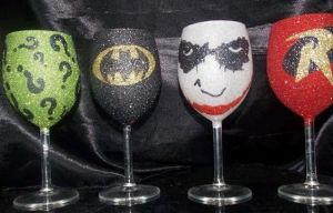 These consist of Batman, Robin, Joker, and the Riddler. Not sure if I'd want to use the Riddler one. Wouldn't know what's in it.