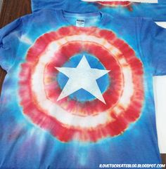Then again, when it comes to superheroes, a Captain America tie dye is the easiest to pull off. Too bad Cap was frozen during the 1960s (at least in the movies).