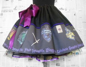 This one has all house signs and other magical things. Still, love the purple bow.