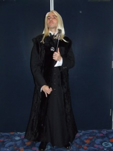 Lucius Malfoy may seem to have more fun than others as a villain. But his heyday all ends when he's sent to Azkaban. He's not the same after that.
