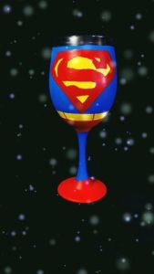 I'm sure whoever drinks it might cause massive collateral damage in Metropolis. That is, assuming they're Superman.