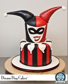 Harley Quinn may have only been in the Batman franchise since the 1990s. but she's highly popular. After all, they make cakes like this of her.