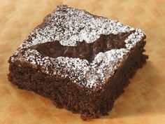 This is just a brownie with the Batman symbol. But I'm sure it's quite delicious.