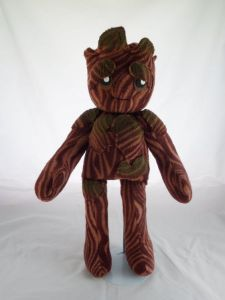 Yes, this is a plush Groot, a character that's practically a walking tree in the movie. Still, this is adorable.