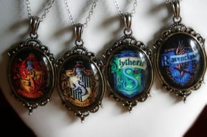 Each pendant comes with house animal and colors. Not sure if I'd want to wear any of them though.