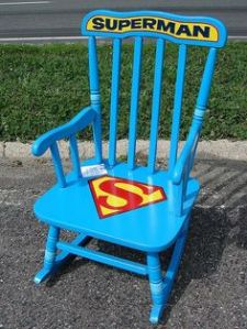 And by that, I mean Superman. Because this chair looks as if it's designated for him.