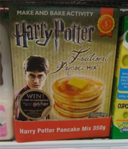 Of course, if you make a house elf cook them, Hermione would get mad at you. Still, this seems like a silly marketing ploy to me.