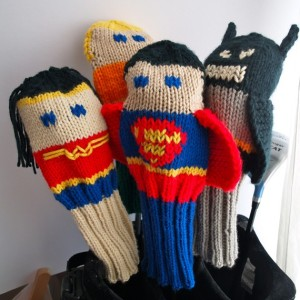 These consists of Batman, Superman, Wonder Woman, and Aquaman. And yes, they're kind of cute.