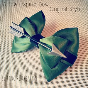 Arrow is a TV show on the CW which is about him. This could also be used as a bow if you like the Hunger Games, too.
