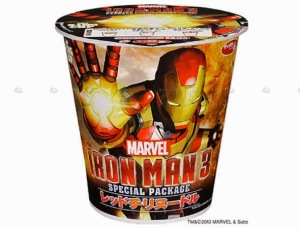 Sure it's from Asia. But I think putting Iron Man's face on something that doesn't remind me of poor struggling young adults would be more appropriate.
