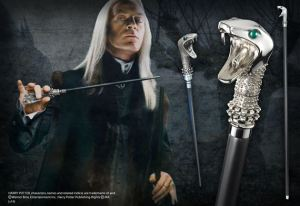 Note that Lucius's wand is inside it, too. Costs $109.00, which is probably cheaper than what Lucius originally got it for.