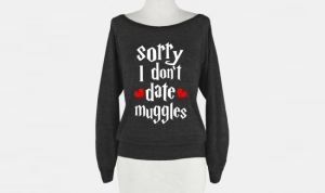 "Well, maybe ""muggles"" here means non-Harry Potter fans. Still, some might take it the wrong way."