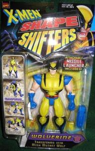 How is this action figure a shape shifter? He doesn't seem to transform into anything except perhaps Wolverine doing yoga.