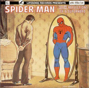 Yes, they actually had this from the 1970s. Like how Peter Parker is viewing himself in Spidey's reflection.