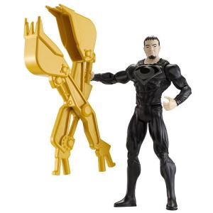 Yes, Zod gets his own bulldozer demolition tongs. And it seems like he's too small to handle them. Also, has a strange look in his face.