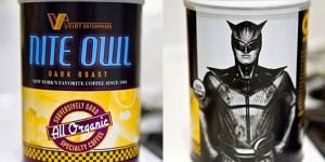 "By the way, Nite Owl is a character from Watchmen. However, most people take their coffee in the morning. So I guess this should be called ""Morning Owl Coffee"" right?"