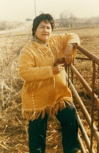In the early 1970s, Maria Pearson was appalled how Indian skeletal remains were treated differently from their white counterparts. In response, she went to the Iowa governor's office in traditional attire saying, You can give me back my people's bones and you can quit digging them up.""