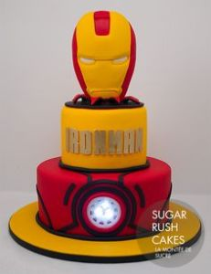 This one seems to have a reactor light inside. Probably not edible. But I'm sure the rest of cake is.