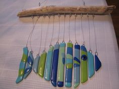 Well, the chimes on here are made from a ceramic fish. Not sure if the pieces fit together. But it's not bad.