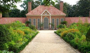 This is what the greenhouse looks like at Mount Vernon. I know it looks like a mansion. You get that.