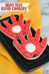At least these cookies don't shoot laser beams. Still, these are quite creative.