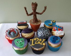These cupcakes show aspects you might see from the movie. Some I remember. Some I don't.
