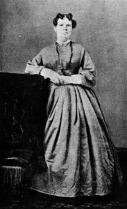 Eliza Stewart Boyd was the first woman in the US to serve on a jury in 1870 Laramie, Wyoming. Nevertheless, I think this photo is unflattering but it's the only one of her I could find.