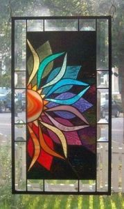 This is lovely. But it's sure a large panel as I can see. I bet this looks great in the sunlight.