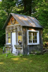 To me, it seems like a lovely garden shed. To others, it's a mere shack. To my dad, it's a waste of firewood.