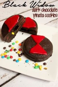 And these are filled with Mini M&M's. At least Black Widow has a great treat like this if you ask me.