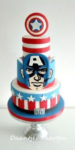 Well, this one has the comic Captain America. But the shield is quite nice.
