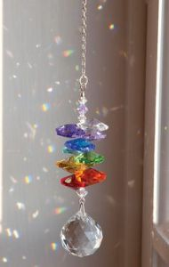 This is on crystal bead chain. I know there are a few of these. But I think this is the best one.