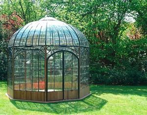 Not sure if it's an old greenhouse design. But I do think it's very beautiful.