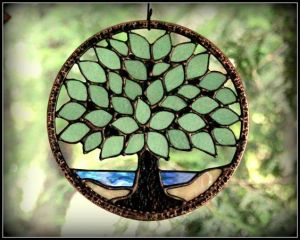 Well, if you're not into floral suncatchers, this one may do. Still, I think it would make a fine addition to any window.