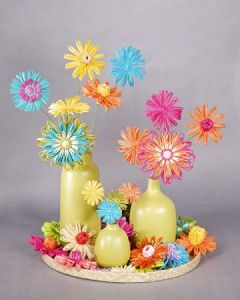 Well, I found this under Cinco de Mayo crafts on Pinterest. So it better be used for the holiday. Still, it's beautiful.