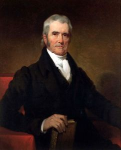 John Marshall may not have been the first Chief Supreme Court Justice but he's very much responsible for shaping the US Supreme Court and the judicial branch as it is today. His ruling on Marbury v. Madison established the process of judicial review. Why we don't talk about him more in schools I have no idea.