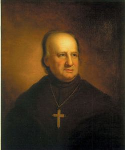 As the first American Catholic bishop, John Carroll was an early advocate for a vernacular liturgy because he wanted everyone in his flock to have access to the Scriptures. Unfortunately for him, Catholic liturgy wouldn't be in the vernacular until nearly 200 years later with Vatican II.