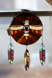 Yes, this is a Native American style suncatcher. But the eagle looks pretty cool.