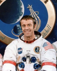 While Alan Shepard wasn't able to orbit the earth, he did manage to be the first American in space. Also got to play golf on the moon which is pretty awesome to watch. Because it's on the moon.