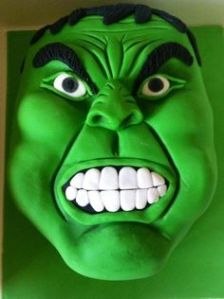 Sure it may not look quite like Mark Ruffalo. But still, this cake looks really pissed.