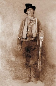 In many respects, the main reasons why Billy the Kid became an outlaw had more to do with being poor and having no one to care for him at a young age. When he got a chance to go straight, he usually took it. While his daring prison escape made him a legend, I tend to see him as a tragic figure.