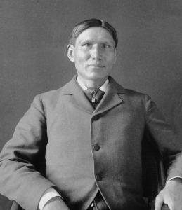 After spending some time treating Indians on reservations, Dr. Charles Eastman became a prolific Indian activist as well as a historian his Santee Dakota people. He is one of the first to write American history from the Native American point of view.