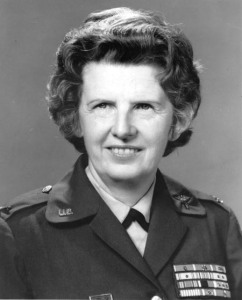In her nearly 30 year career as a US Army nurse, Colonel Ruby Bradley served in both WWII and Korea with great distinction whether it be surviving a Japanese prison camp or almost getting blown up. She is said to be the most decorated woman in military history.