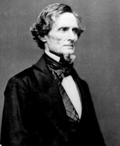 Elected as President of the Confederacy during the American Civil War, Jefferson Davis was unable to find a strategy to defeat the Union and wasn't the effective war leader Lincoln was. If Jefferson Davis gets any reverence or honors today, then it has more to do what he did after the war and Lost Cause mythology.