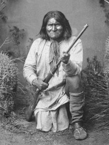 """I was no chief and never had been, but because I had been more deeply wronged than others, this honor was conferred upon me, and I resolved to prove worthy of the trust."" Nevertheless, Geronimo was the kind of Indian fighter and leader who just couldn't stay put."
