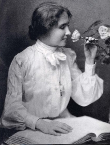 We mainly know Helen Keller from her story of how her teacher Annie Sullivan broke through the isolation imposed by a near complete lack of language which allowed her to blossom and communicate. Keller and Sullivan would be together until Sullivan died in 1936.
