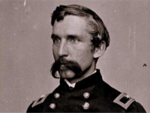 Joshua Chamblerlain played a key role in the Battle of Gettysburg when he and the 20th Maine held off the Confederates at Little Round Top on the second day. He was awarded a Medal of Honor for his heroism.