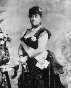 "Queen Liliʻuokalani was Hawaii's first and last reigning queen as well as its last reigning monarch. In 1895, she was forcibly removed from her throne while Hawaii was annexed to the United States. Was also an accomplished author and songwriter with her ""Aloha Oe"" being Hawaii's state song."