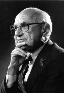 """I'm no admirer of Milton Friedman nor do I support his economic theories. However, I do admit that his ideas have influenced so many politicians, particularly Republicans and Libertarians. And he has been cited by The Economist as, """"the most influential economist of the second half of the 20th century ... possibly of all of it."""""""